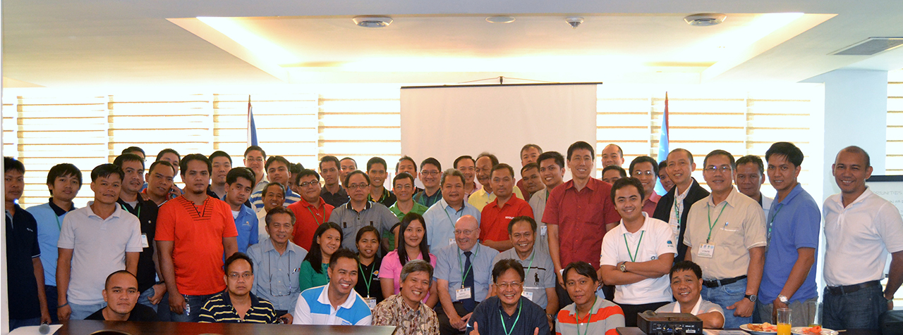 Group photo during the 2-day Industrial Users Training on Compressed Air System Optimizaton